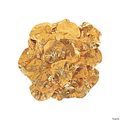 Polyester Gold Rose Petals