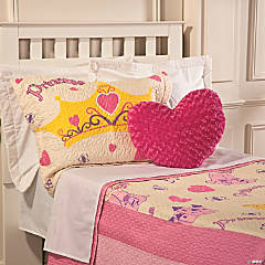 Polyester Her Mini Majesty Snuggly Ever After Princess Quilt - Twin