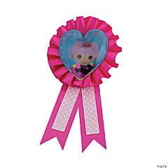 Polyester LaLaLoopsy Confetti Pouch Award Ribbon