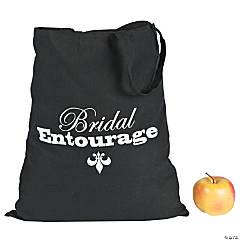 Polyester Large Bridal Entourage Tote Bags