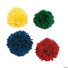 Polyester Large Pom-Pom Balls