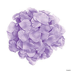Polyester Lavender Rose Petals