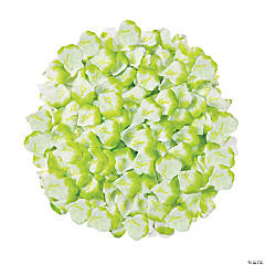 Polyester Lime Love Rose Petals