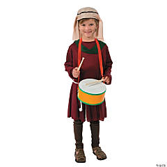 Polyester Little Drummer Boy Costume Set