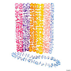 Polyester Mini Floral Petal Leis
