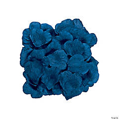 Polyester Navy Rose Petals