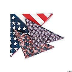 Polyester Patriotic Bandana Assortment