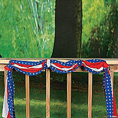 Polyester Patriotic Bunting - 20 ft.