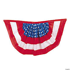 Polyester Patriotic Bunting