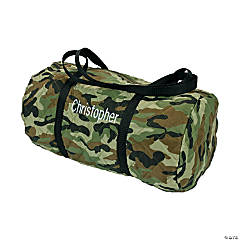 Polyester Personalized Camouflage Duffle Bag