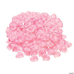 Polyester Pink Rose Petals