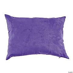 Polyester Purple Medium Reading Pillow