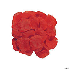Polyester Red Rose Petals