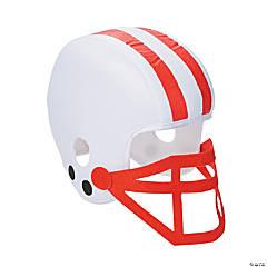 Polyester Red Team Spirit Football Helmet