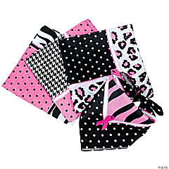 Polyester Sassy Breast Cancer Awareness Bandanas