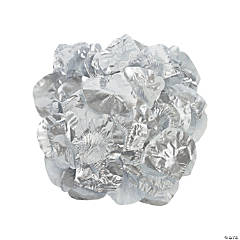 Polyester Silver Rose Petals