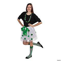Polyester St. Patrick's Day Knee Socks