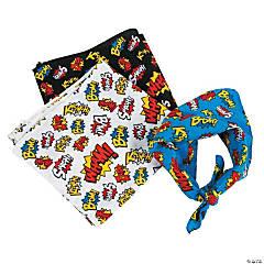 Polyester Superhero Bandanas