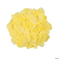 Polyester Yellow Rose Petals