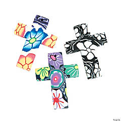 Polymer Cross Pendants