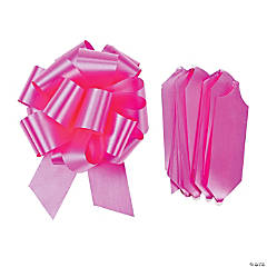 Polyprophelene Hot Pink Wedding Pull Bows