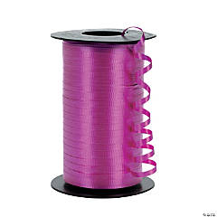 Polypropylene Curling Ribbons - Neon Pink