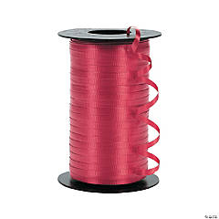 Polypropylene Curling Ribbons - Red