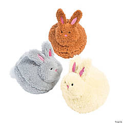 Pom-Pom Stuffed Bunnies