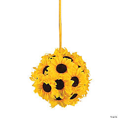 Pomander Sunflower Kissing Ball