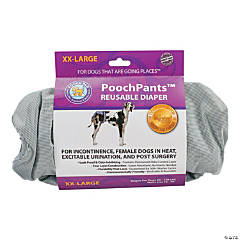 PoochPants Reusable Dog Diaper-XX-Large-90 To 120lbs
