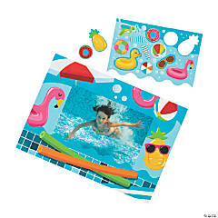 Pool Party Magnetic Picture Frames