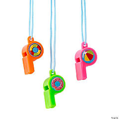 Pool Party Whistles