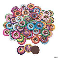 Poop Emoji Chocolate Coins