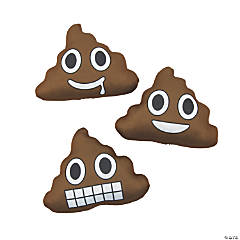 Poop Emoji Splash Balls