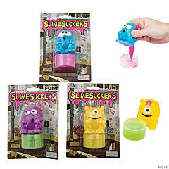 Pooping Slime Sucker Containers
