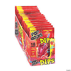 Pop Rocks<sup>®</sup> Sour Strawberry Dips