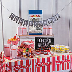 Popcorn Bar Supplies