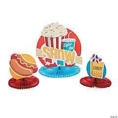 Popcorn Party Centerpieces