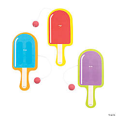 Popsicle Party Paddle Ball Games