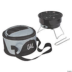 Portable Grill Set with Cooler Bag
