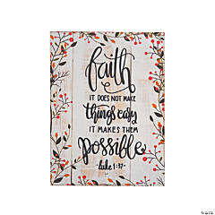 Possible with Faith Wall Art