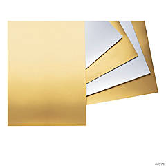"Poster Board, Gold, 22"" x 28"", 25 Sheets"