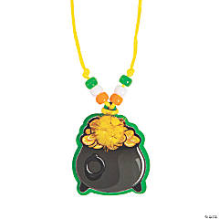 Pot of Gold Necklace Craft Kit