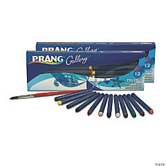 Prang® Payons™ Watercolor Crayon Set with Brush, Assorted Colors, 24 count