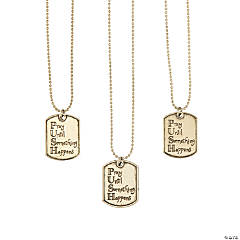 Pray Charm Necklaces