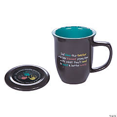 Prayer for a Teacher Mug & Coaster