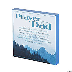 Prayer for My Dad Tabletop Sign