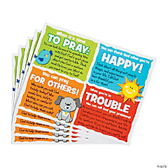Prayer Prompt Cards for Kids