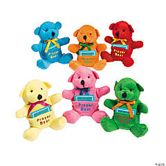 Prayer Stuffed Bears with Prayer Card