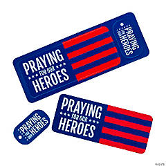 Praying for Our Heroes Bookmarks & Keychain Tags